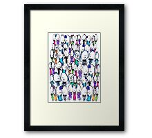 Robyn's People Framed Print