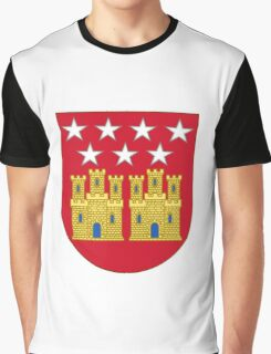 Coat of Arms of the Community of Madrid (Shield) Graphic T-Shirt