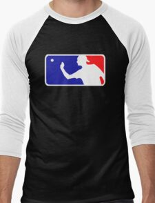 Beer Pong.  Men's Baseball ¾ T-Shirt