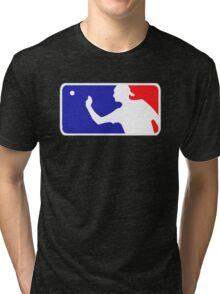 Beer Pong.  Tri-blend T-Shirt