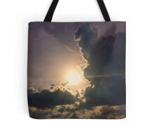 The Parting Sky Tote Bag