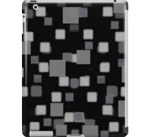 Gray Squares iPad Case/Skin