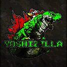 Yoshizilla (Print Version) by Rodrigo Marckezini