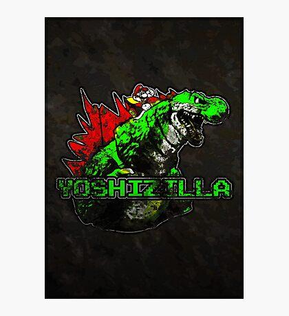 Yoshizilla (Print Version) Photographic Print