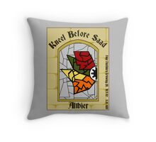 Kneel Before Saad Throw Pillow