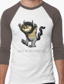Where The Wild Things Are Men's Baseball ¾ T-Shirt
