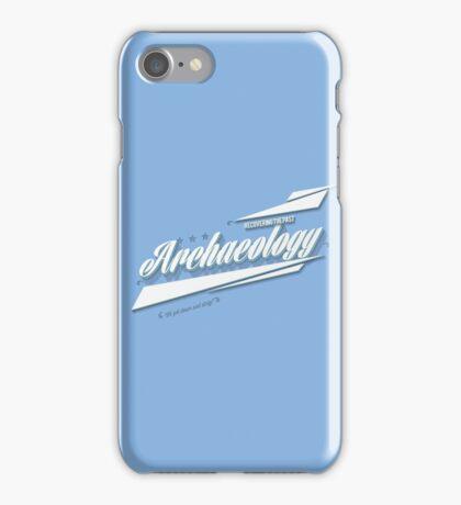 Archaeology Retro iPhone Case/Skin