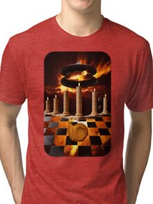 The Elemental Tourist - Fire Tri-blend T-Shirt