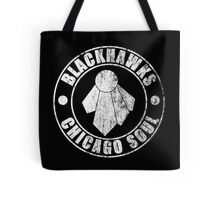 Chicago Soul (Distressed Dark Colors) Tote Bag