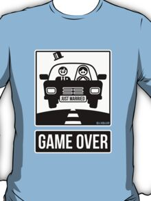 Just Married – Game Over (2C) T-Shirt