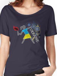 Ukrainian Molotov Girls Women's Relaxed Fit T-Shirt
