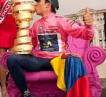 Nairo Qunitana - Giro d'Italia Champion by Eamon Fitzpatrick