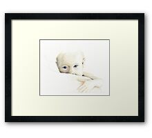 Hi there baby Framed Print