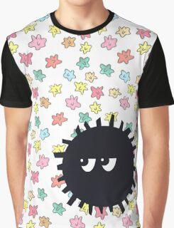 Irritated Soot Sprite Graphic T-Shirt