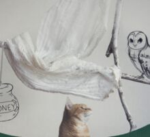 The Owl & The Pussycat Sticker