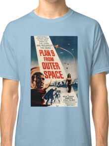Plan 9 From Outer Space Retro Movie Pop Culture Art Classic T-Shirt