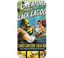 Creature from the Black Lagoon Retro Movie Pop Culture Art iPhone Case/Skin