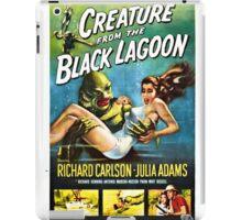 Creature from the Black Lagoon Retro Movie Pop Culture Art iPad Case/Skin