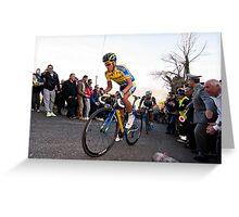 Anberto Contador Greeting Card