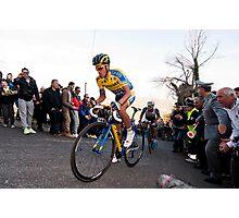 Anberto Contador Photographic Print