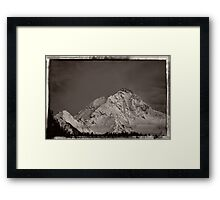 Ahornspitze in Austria Framed Print