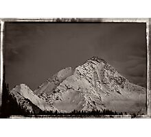 Ahornspitze in Austria Photographic Print