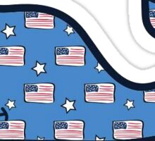 USA Vineyard Vines 3 Sticker