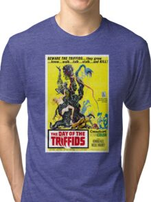 The Day of the Triffids Retro Movie Pop Culture Art Tri-blend T-Shirt