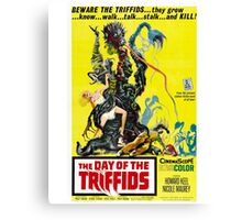 The Day of the Triffids Retro Movie Pop Culture Art Canvas Print