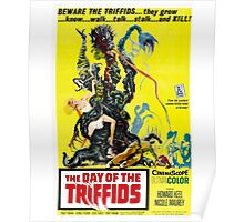 The Day of the Triffids Retro Movie Pop Culture Art Poster