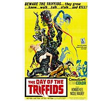 The Day of the Triffids Retro Movie Pop Culture Art Photographic Print