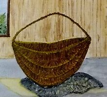 Willow Basket  by MaeBelle