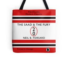 The Saad & The Fury Book Cover Tote Bag