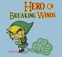 Hero of Breaking Winds Kids Clothes