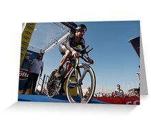 Sir Bradley Wiggins Greeting Card