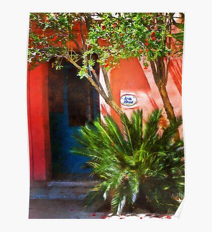 Aros House, Tucson, Arizona Poster