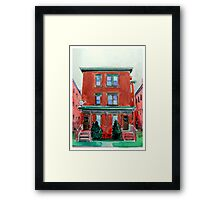 Colt House 50-52 in Hartford, Connecticut Framed Print