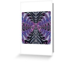 Purple Galaxy Greeting Card