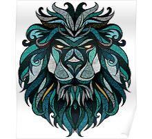 Lion Deep Totem Poster