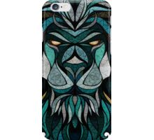 Lion Deep Totem iPhone Case/Skin