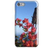 Hawaii Tiki and Flowers iPhone Case/Skin