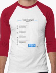 Hamilton Group Text Men's Baseball ¾ T-Shirt