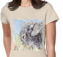'Time to Retreat' - The Painting Womens Fitted T-Shirt