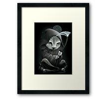 REAPER (pick black background) Framed Print