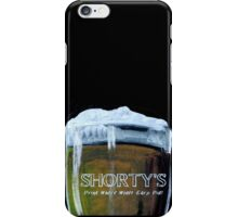 Shorty's bar inspired by Wynonna Earp - chalk and beer iPhone Case/Skin
