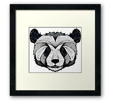 Panda Deep totem Framed Print