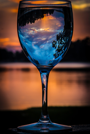 Cheers to the Sun Rise by Dave  Hartley