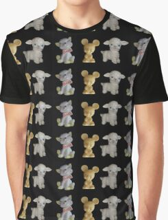 Kitty Mousie Lambie Graphic T-Shirt