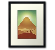 The Journey Begins Framed Print