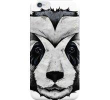 Panda Deep totem iPhone Case/Skin